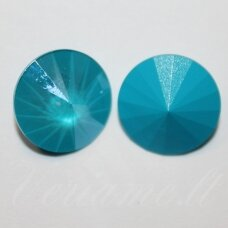 1122 rivoli chaton-crystal azure blue-14 mm, 1 pc.