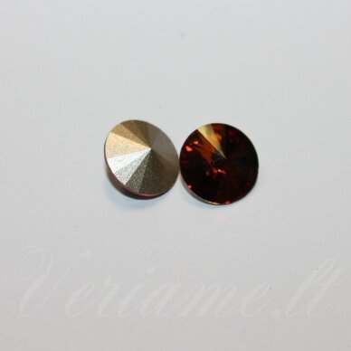 1122 rivoli chaton-crystal copper (001 cop)-ss29(6.14-6.32mm), 1 vnt.