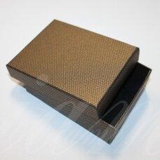 DZ0054-STAT-110x80x30 apie 110 x 80 x 30 mm, stačiakampio forma, bronzinė spalva, dovanų dėžutė, 1 vnt.