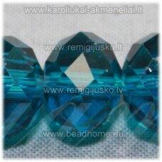 jssw0028gel-ron-3x4 apie 3 x 4 mm, rondelės forma, skaidri, elektrinė spalva, apie 150 vnt.