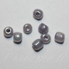LB0156-12 apie 2 mm, apvali forma, pilka spalva, 25 g.
