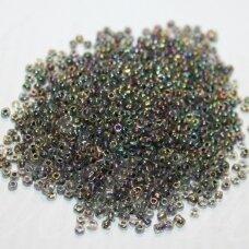 LB0214-12 apie 2 mm, apvali forma, margas, viduriukas juoda spalva, 25 g.