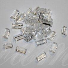pccb321/43001/00050-3.5/3.5 3.5 x 3.5 mm, trikampio forma, skaidrus, apie 50 g.