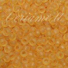 pccb331/39001/10020-10/0 2.2 - 2.4 mm, apvali forma, matinė, geltona spalva, apie 50 g.