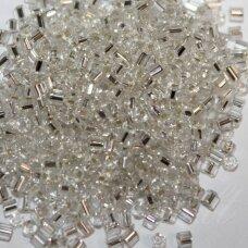 """pccb351/22001/78102-3"""" 6.5 x 2 mm, pailga forma, skaidrus, viduriukas su folija, apie 50 g."""