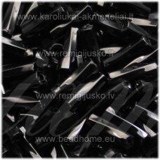 """pccb351/38001/23980-5"""" 11 x 2 mm, pailga forma, juoda spalva, apie 50 g."""