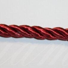 ppvgel0177 apie 3 mm, vyšninė spalva, sukta virvutė, 1 m.