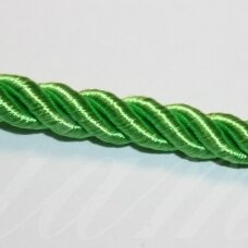 ppvgel0063 apie 8 mm, salotinė spalva, sukta virvutė, 1 m.