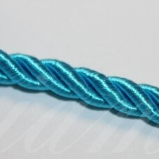 ppvgel0051 about 4 mm, light blue color, twisted rope, 1 m.