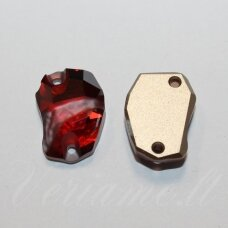3257-Crystal Red Magma (001 REDM)-27x19 mm, 1 vnt.