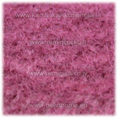 fil0003 apie 330 x 420 mm, filcas, tamsi, rožinė spalva, 1 vnt.
