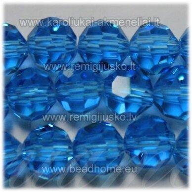 jssw0009gel-apv2-08 apie 8 mm, apvali forma, briaunuotas, melsva spalva, apie 72 vnt.