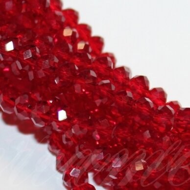 jssw0013gel-ron-9x12 apie 9 x 12 mm, rondelės forma, raudona spalva, apie 72 vnt.