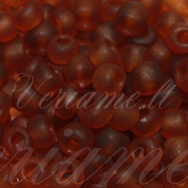 lb0013m-08 about 3 mm, round shape, matte, brown color, about 25 g.