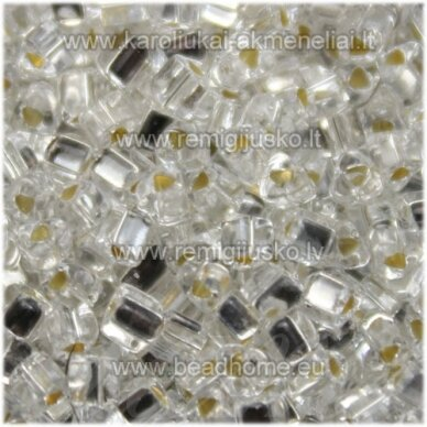 PCCB321/43001/78102-3.5/3.5mm 3.5 x 3.5 mm, trikampio forma, skaidrus, viduriukas su folija, apie 50 g.