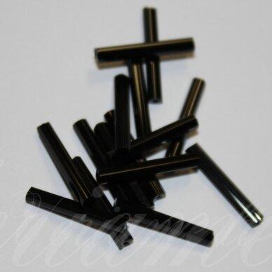 pccb351/32001/23980-20 mm 20 x 2 mm, pailga forma, juoda spalva, apie 50 g.