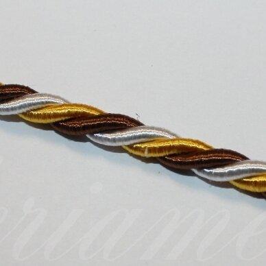 ppvgel0141 apie 4 mm, marga, sukta virvutė, 1 m.