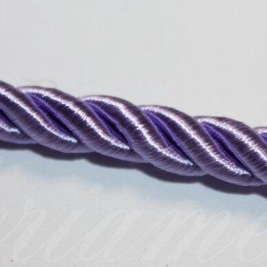 ppvgel0150 apie 4 mm, alyvinė spalva, sukta virvutė, 1 m.