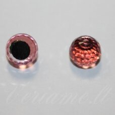 4869-Faceted Disco Ball Fancy-Crystal Light Rose Comet Argent Light (223 CAL)-8 mm, 1 vnt.