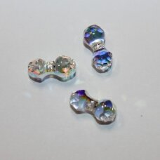 5150-crystal aurore boreale (001 ab)-15x7 mm, 1 vnt.