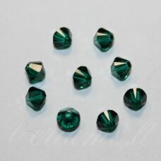 5328-Emerald (205)-3 mm, 25 vnt.