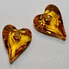 6240-Wild Heart Pendant-Sunflower (292)-17 mm, 1 vnt.
