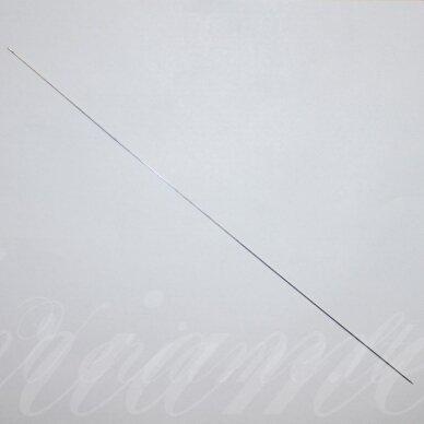 ADA0005 120 x 0.6 mm, metalo spalva, adata, 1 vnt.