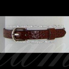 ap0003 about 22 cm ilgis, 7.5 mm width, brown color, bracelet, 1 pc.