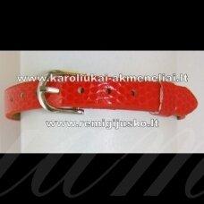 ap0013 about 22 cm ilgis, 7 mm width, red bracelet, 1 pc.