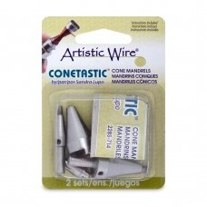 Artistic Wire® Conetastic™ Hourglass Mandrels (2 sets)