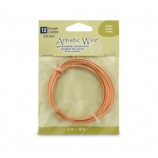 Artistic Wire® vielutė 12 Gauge/2.1mm Natural (3m/10ft)