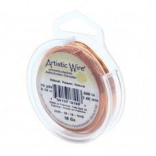 Artistic Wire® vielutė 18 Gauge/1mm Natural (9m/29.8ft)