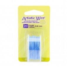 Artistic Wire® vielutė 20 Gauge/0.81mm Powder Blue (5.5m/18ft)