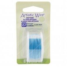 Artistic Wire® vielutė 22 Gauge/0.64mm Powder Blue (7m/23.9ft)