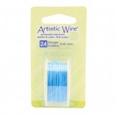 Artistic Wire® vielutė 24 Gauge/0.51mm Powder Blue (9m/29.8ft)