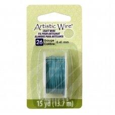 Artistic Wire® vielutė 26 Gauge/0.41mm Powder Blue (13.7m/44.9ft)
