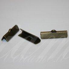 ASPECMD3902.8 apie 20 x 6 mm, žalvario spalva, juostelių užspaudėjas, apie 2000 vnt.