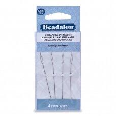 Beadalon® adatos su lankstoma kilpute didelės (Heavy) 6.4cm ilgis (4 vnt)