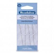 Beadalon® adatos su lankstoma kilpute vidutinio dydžio (Medium) 6.4cm ilgis (4 vnt)