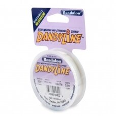 Beadalon® DandyLine™ pintas siūlas .004in/0.13mm baltas (25m/82ft)
