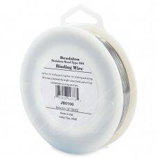 Beadalon® nerūdijančio plieno rišama vielutė 304 tipo .010in/0.25mm (599m/1965ft)