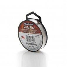 Beadalon® WildFire® siūlas karoliukų vėrimui .006in/0.15mm Beige (rusvas) (45m/50yd)