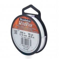 Beadalon® WildFire® siūlas karoliukų vėrimui .006in/0.15mm Frost (45m/50yd)