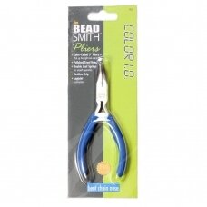 BeadSmith® COLOR I.D. Economy Bent Chain Nose Pliers