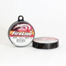 BeadSmith® FireLine® tvirtas siūlas karoliukų vėrimui .006in/0.15mm 6 Lb stiprumas Smoke Grey (45.7m)