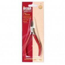 BeadSmith® PL700 serijos plonos replės apvalia nosimi