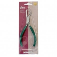BeadSmith® Flat Jaw Pliers with Hook for Fastening Cupchain Prongs