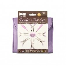BeadSmith® Fashion Color Pliers Set & Clutch (Orchid)