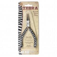BeadSmith® Zebra replės apvalia nosimi
