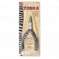 BeadSmith® Zebra replės smaila nosimi
